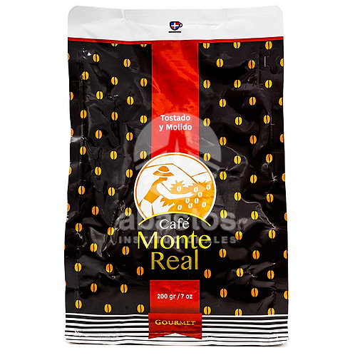 Cafe Molido 200 gr Monte Real