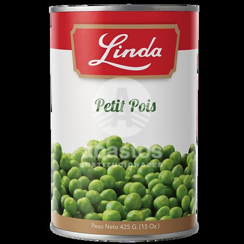 Petit Pois (guisantes) 15 oz Linda