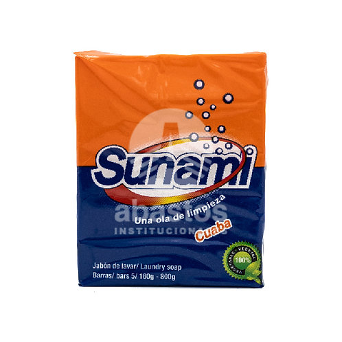 Jabon de Cuaba En Pasta 5 ud Sunami