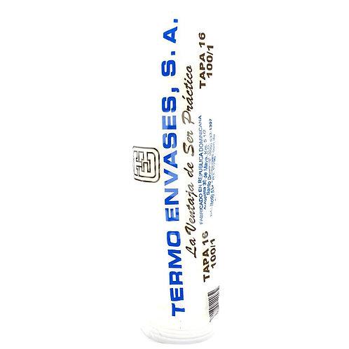 Tapa de Vasos Foam 16 oz 100 ud Termo Envases