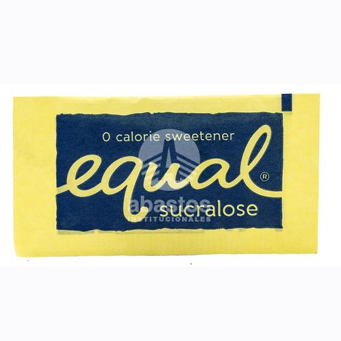 Edulcorante Sucralosa 100/ 1 gr Equal