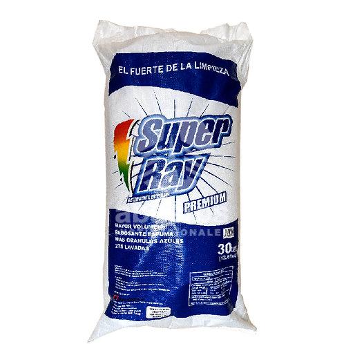 Detergente En Polvo 30 lb Super Ray