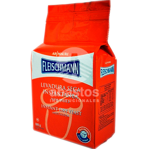 Levadura Seca Instantanea 500 gr Fleischmann