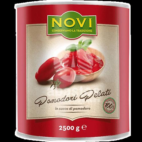 Tomate Pelado 2500 gr Novi