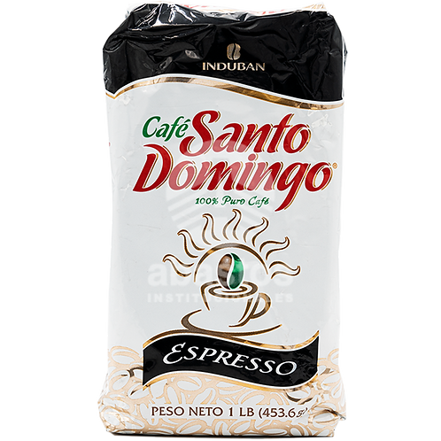 Cafe Molido Espresso 1 lb Santo Domingo