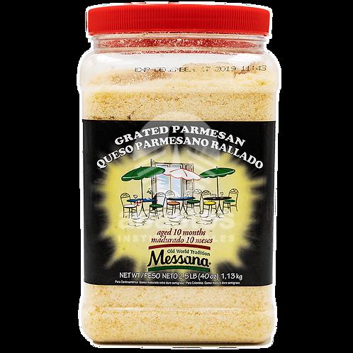 Queso Parmesano Rallado 2.500 lb Messana