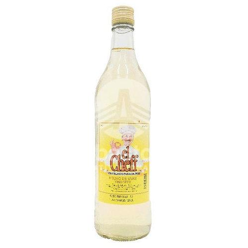 Vino de Cocinar Blanco 700 ml El Cheff