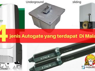 Jenis - Jenis Autogate Yang Terdapat Di Malaysia