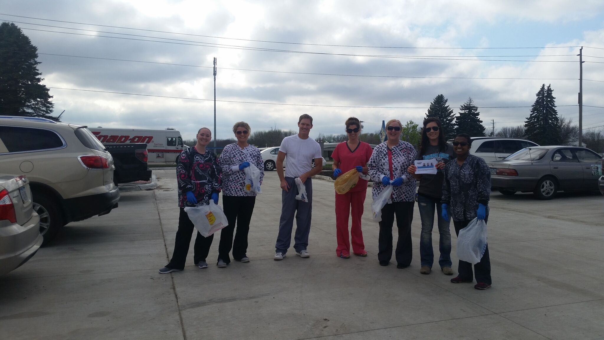 Clay & Associates Staff at FOD Walk