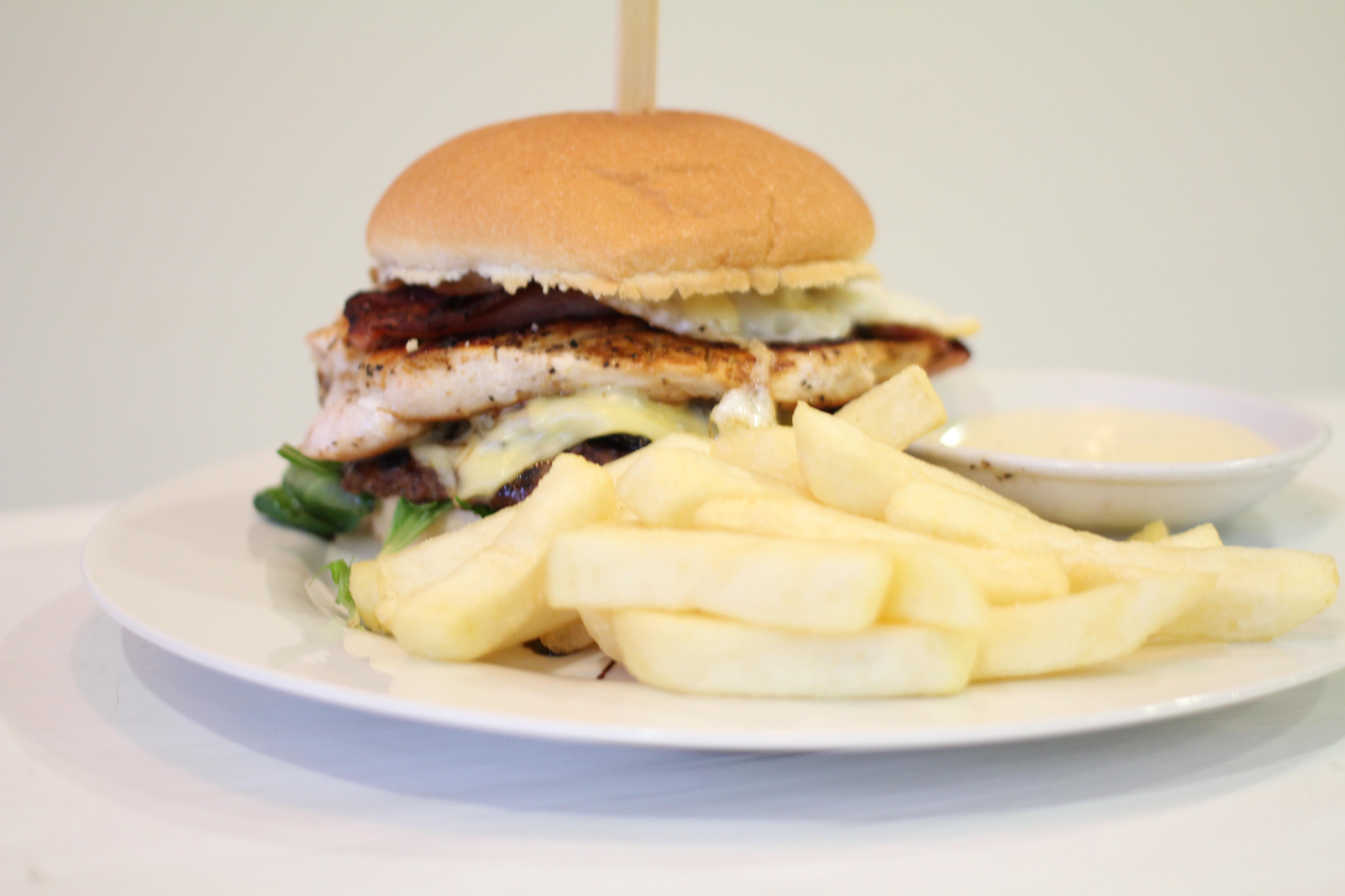 Ultra Tyranno burger