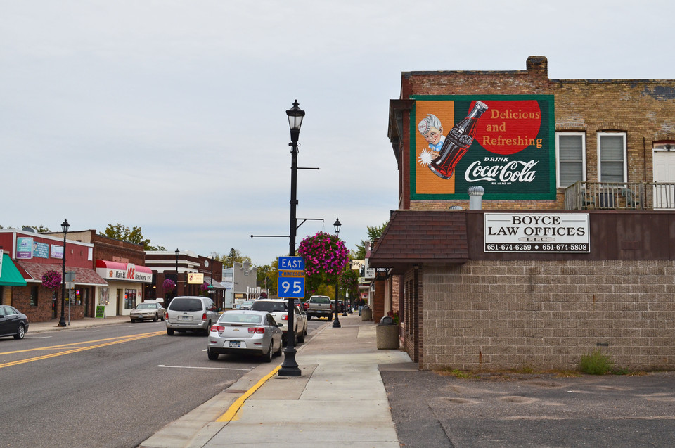 Coca Cola Restoration Mural - North Branch, MN