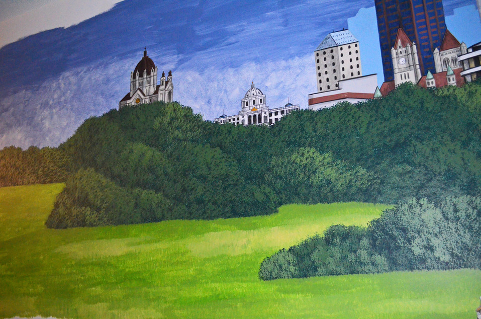 Whispering Pines Apartments St. Paul Mural - Coon Rapids, MN