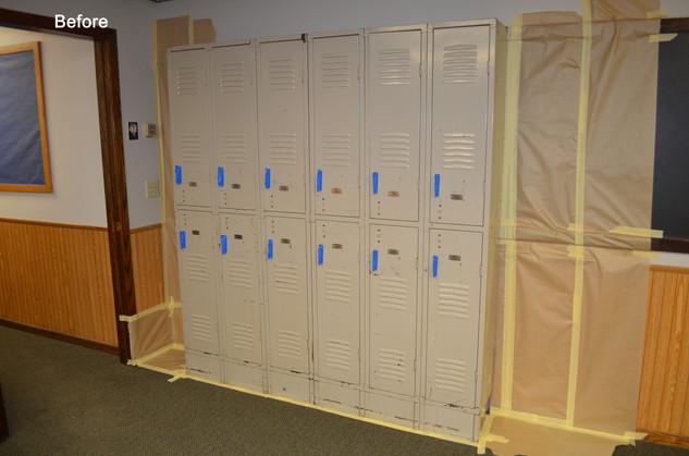 IHM Academy Locker Mural - Oak Grove, MN