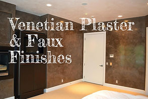 Galleries Venetian Plaster and Faux Fini