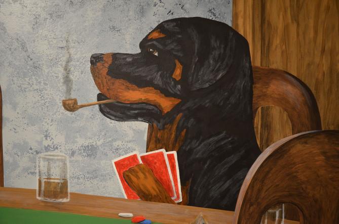 Dogs Playing Poker Mural Garage 6.jpg