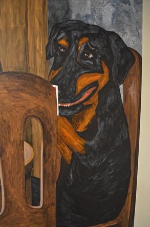 Dogs Playing Poker Mural Garage 7.jpg