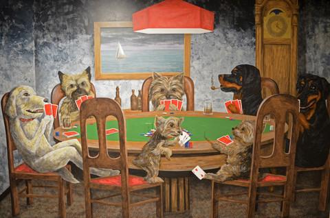 Dogs Playing Poker Mural Garage 2c.jpg