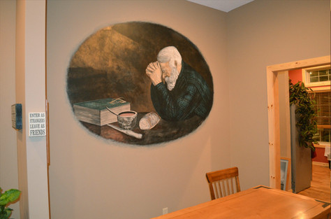 """""""Grace"""" Mural at Grace Counseling Services"""