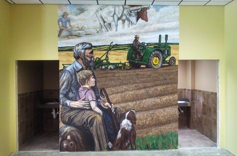 John Deere Mural - Alexandria, MN