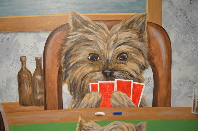Dogs Playing Poker Mural Garage 4a.jpg