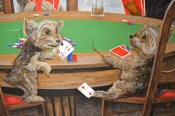 Dogs Playing Poker Mural Garage 8.jpg