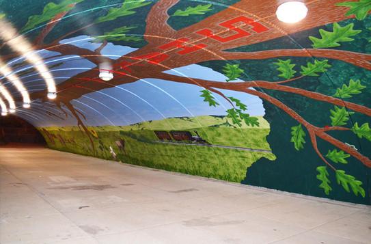 Holmes Tunnel Mural - Shakopee, MN