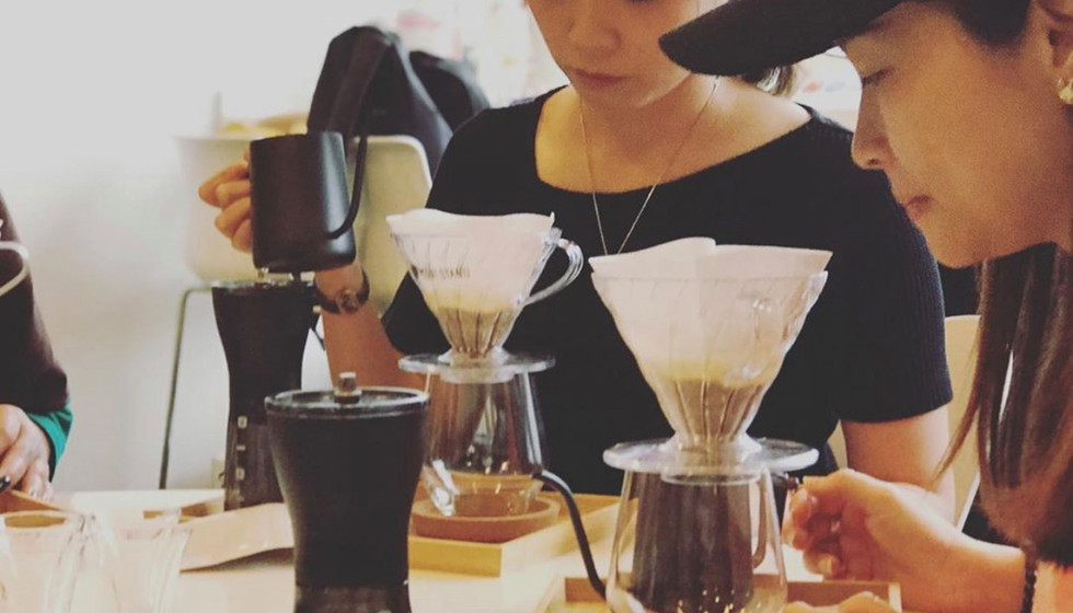 coffee meditation team building