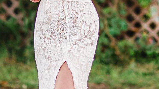 New York Flair Lace Gown