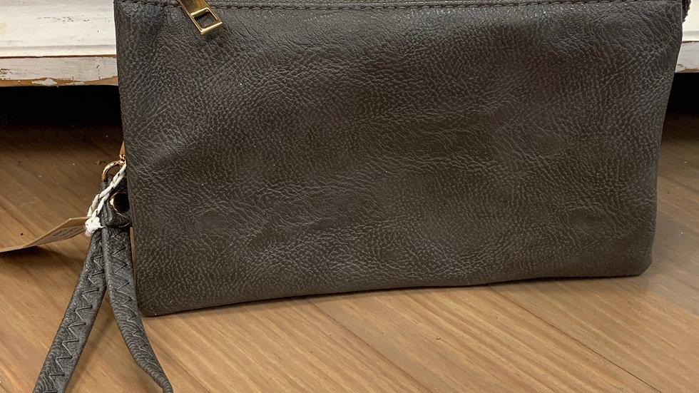 Grey Clutch/Wallet