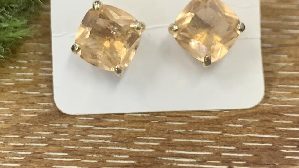 Stunning Gold Studs