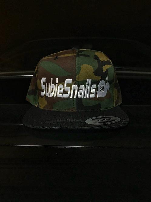 Classic Logo Snap Back Hat - Camo