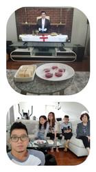 신철수 & 강지연 가정 (주한, 예은)