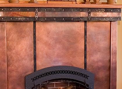 Copper ,steel fireplace surround.jpg