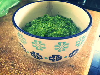 Cleansing Pesto for the Fall