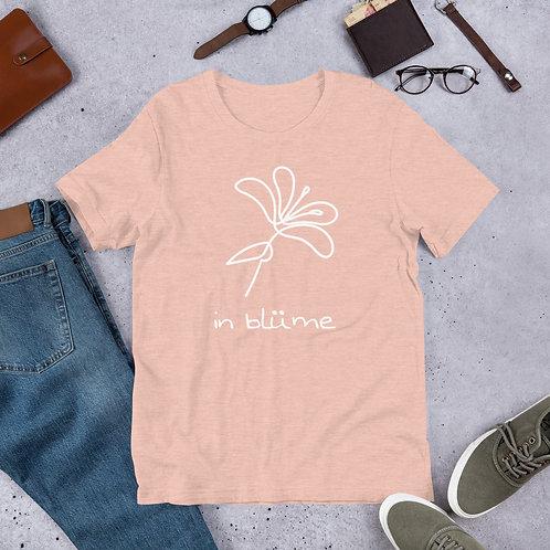 in blüme Stylized Unisex T-shirt
