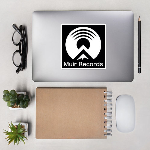 Muir Records Stickers