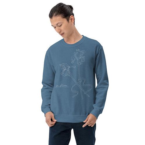 in blüme iris Unisex Sweatshirt