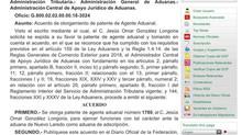 Lic. Jesus Omar Gonzalez Longoria Patente 1780