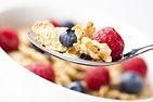 spoonful of breakfast cereal and berries.jpg