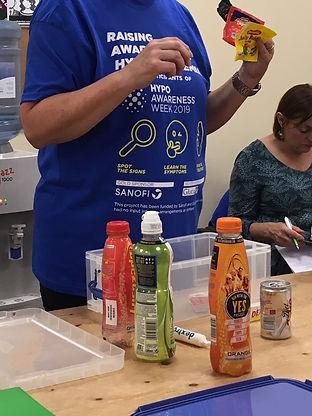 DUET diabetes educator talking about hyp