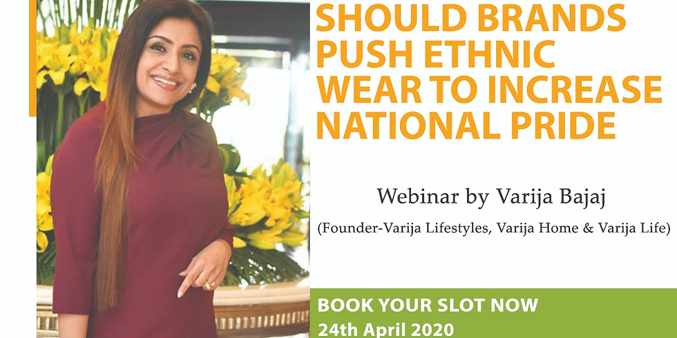 SHOULD BRANDS PUSH ETHNIC WEAR TO INCREASE NATIONAL PRIDE