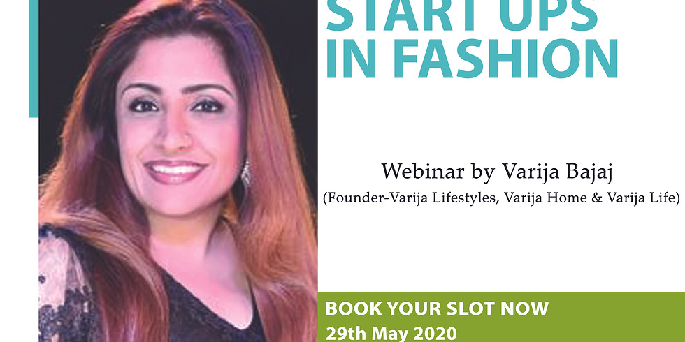 START UPS IN FASHION (Repeat Session)