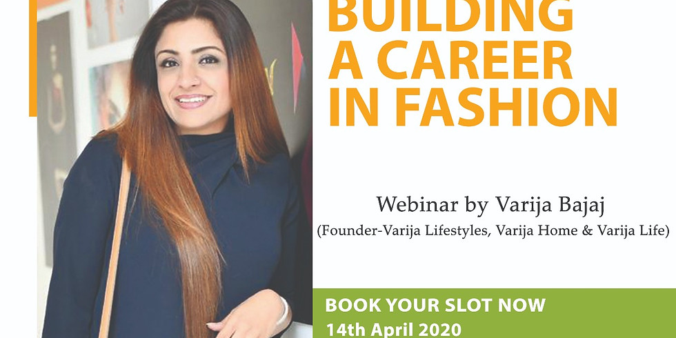 BUILDING A CAREER IN FASHION