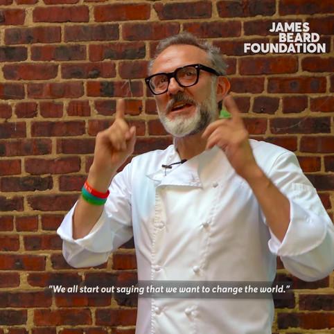 Chef Massimo Bottura @ the Beard House