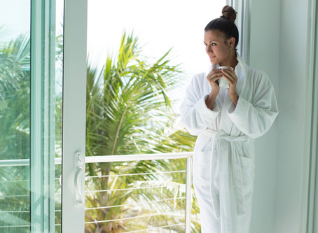 Impossibly Soft Comfort at Home: Bamboo Bathrobe by Cariloha