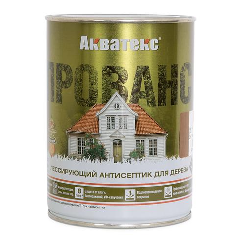 Акватекс ПРОВАНС ваниль - декоративный антисептик для древесины