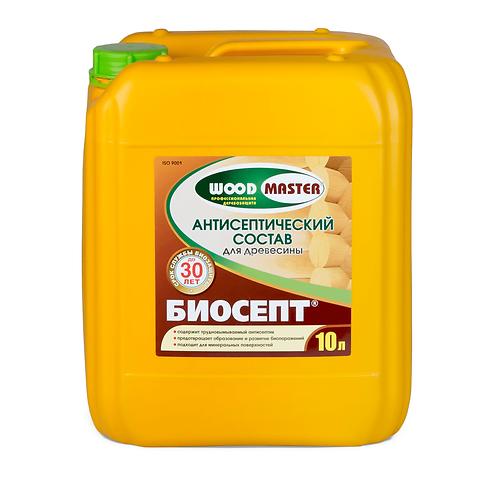 Антисептический пропиточный состав для древесины  WOODMASTER БИОСЕПТ