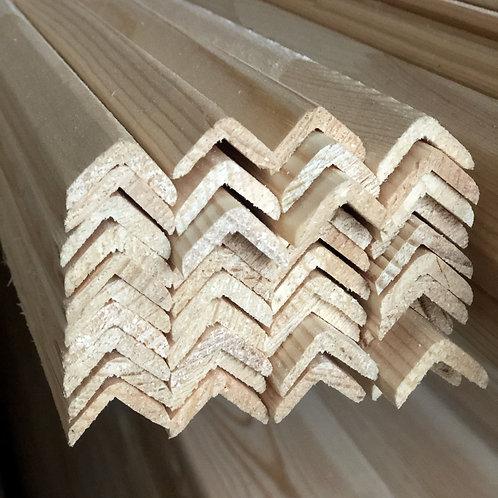 Уголок деревянный 20*20*2500мм. Хвоя