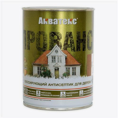 Акватекс ПРОВАНС белый - декоративный антисептик для дерева