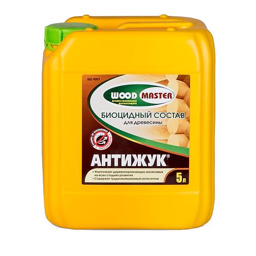АНТИЖУК Биоцидный состав для древесины WOODMASTER